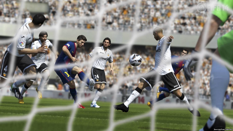 Скриншоты FIFA 14 с анонса