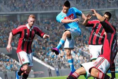 FIFA 14 игровой процесс